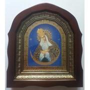 Икона Богородица Остробрамская. Киот. Украина. фото
