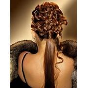 Все виды стрижек, биозавивка волос, реконструкция волос, восстановление волос, эксклюзивные, свадебные прически, наращивание волос фото