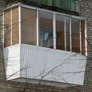 Застекление балкона Троещина