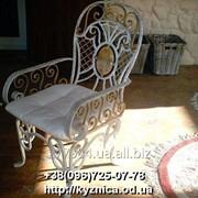 Кованый стул Модель КСЛ - 004 фото