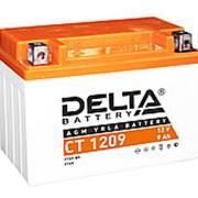 Стартерные аккумулятор Delta CT 1209 12v 9A фото