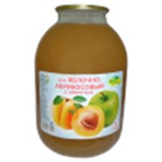 Сок Яблочно-абрикосовый 3л. ТУ фото