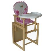 Деревянный стульчик для кормления HC-01 фото