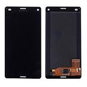 Дисплей для Sony Z3 compact в сборе с тачскрином (Black) фото