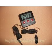 Цифровой термометр-гигрометр с двумя выносными датчиками фото