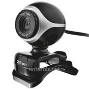 Веб-камера Trust Exis webcam Black-Silver (17003) DDP, код 114148