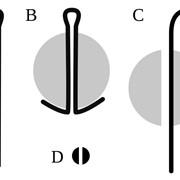 Шплинт 8,0 мм диаметром, длиной 50 мм, 56 мм, 63 мм, 71 мм, 80 мм, 90 мм, 100 мм, 110 мм. ГОСТ 397-79 фото