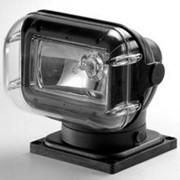 Прожектор 962. Галогенная лампа, черный корпус. ДУ+кабель. Подключение - нижнее. фото