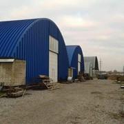 Монтаж складских сооружений быстровозводимые ангары фото