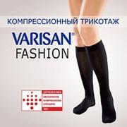Гольфы компрессионные Varisan Fashion 1 класса компрессии V-F23N1, черные фото