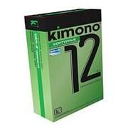 Контурные презервативы KIMONO - 12 шт. фото