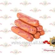 Сосиски Бистро вареные из мяса птицы МГС бессортовые фото