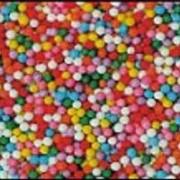 Посыпки сахарные манпарель, вермишель фото