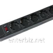 Фильтр питания Gembird Power Cube 6 розеток 4,5м (SPG6-G-15B) черный, код 61995 фото
