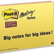 Блокноты для флипчартов Post-it® Meeting Charts, Блокноты фото