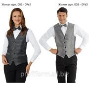 Униформа для работников отелей (жилет мужской), арт. 003-0962 фото