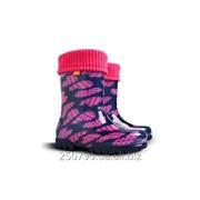 Резинові чоботи для дівчинки фото