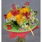 Композиции из живых цветов фото