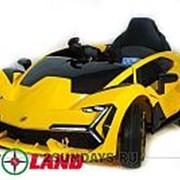 Детский электромобиль Lamborghini YHK2881 желтый фото