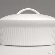Овальная фарфоровая форма для выпечки с крышкой BergHOFF - Bianco (1691145) фото