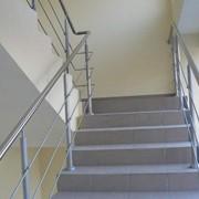 Лестницы, ограждения, перила из нержавеющей стали фото