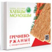 Хлебцы-Молодцы гречнево-ржаные с провитамином А фото