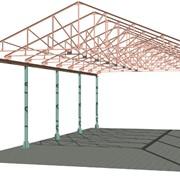 Здания и помещения складские, ангары, металлоконструкции любой сложности фото