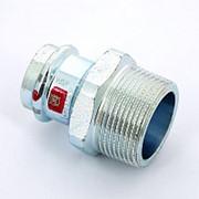 Муфта пресс-Н оцинкованная сталь Prestabo VIEGA 28х1 1/4' фото
