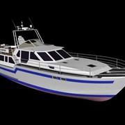 Круизная моторная яхта БОЯРИН-1200 фото