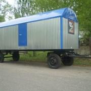 Домики вагончики (бытовки) передвижные БКЛ-8,2 м фото