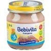 Пюре мясное Bebivita Говядина, с 6 мес 100 гр фото