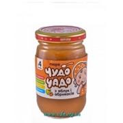 Пюре Чудо-чадо 170г Яблоко абрикос (с сахаром) фото
