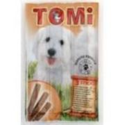 Палочки для собак Tomi с индюшатиной и молодой бараниной 3 шт. по 10 гр. фото