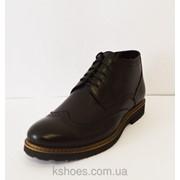 Ботинки зимние мужские черные Faber 177201 фото