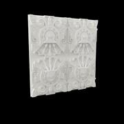 Гипсовая настенная 3D панель Maia фото