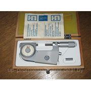 Прецизионный индикаторный микрометр мод. 0537, Германия 25 - 50 мм, погрешность 0,001 мм фото