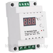 Терморегулятор (термореле) terneo b20 на DIN рейку фото