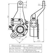 Рычаг тормоза регулировочный МАЗ автомат левый узкий шлиц (эвольв.) ТАИМ фото
