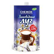 Кисломолочный напиток Снежок с сахаром м.д.ж. 25% фото