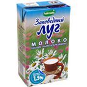 Молоко питьевое ультрапастеризованное Заповедный луг м.д.ж. 15% фото