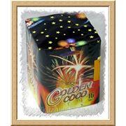 Салют Golden Coco (25 мм/16 злп) фото