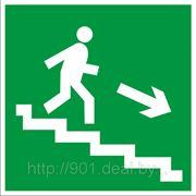 Направление к эвакуационному выходу (по лестнице направо вниз) фото