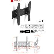 Кронштейн ElectricLight для LCD телевизоров КБ-01-43 (диагональ 48-102 см, max 300x310, до 30 кг) фото