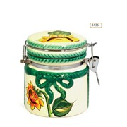 Чай черный цейлонский в керамической банке «Зеленый Мир» фото