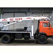 Автовышка ПСС-131.18Э КАМАЗ-43253 Автогидроподъемник фото