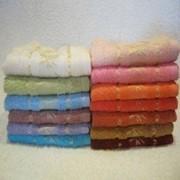 Бамбуковое полотенце размером 30*50 см фото