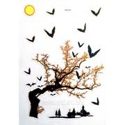 Виниловая наклейка для ноутбука Сумерки фото
