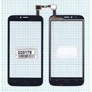 Сенсорное стекло (тачскрин) для Huawei Ascend Y625 черное, Диагональ 5 фото