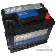 Exide EC502 аккумулятор Standart 50Ah 510A (R +) 242x175x175 фото
