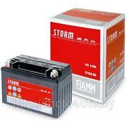 FIAMM 7902886 STORM_!аккумуляторная батарея\ евро 8.6Ah 120A 150/87/93; FTZ10S-BS moto фото